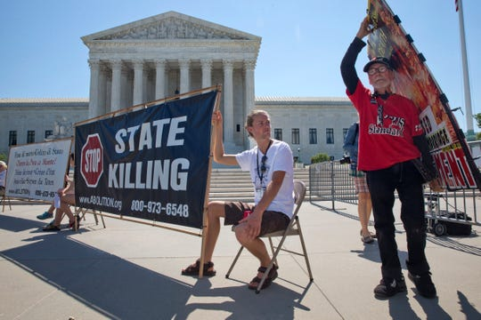 The death penalty causes the most consternation among Supreme Court justices, who this term have clashed over everything from lethal injections to last rites.