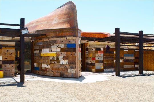 Vena Cava has a hip design aesthetic epitomized by its winery constructed of recycled boat parts.