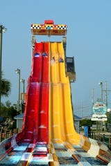 Race your friends and family members down the exciting slides at Wild Water & Wheels.