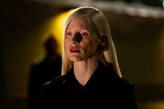 "Jessica Chastain used Tilda Swinton and ""Terminator 2: Judgment Day"" as visual inspiration for her ""Dark Phoenix"" alien villain."