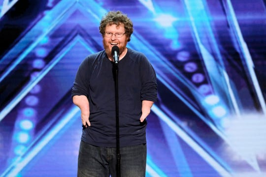 Ryan Niemiller was able to break through judge Simon Cowell's bad mood on Tuesday's semifinals episode of