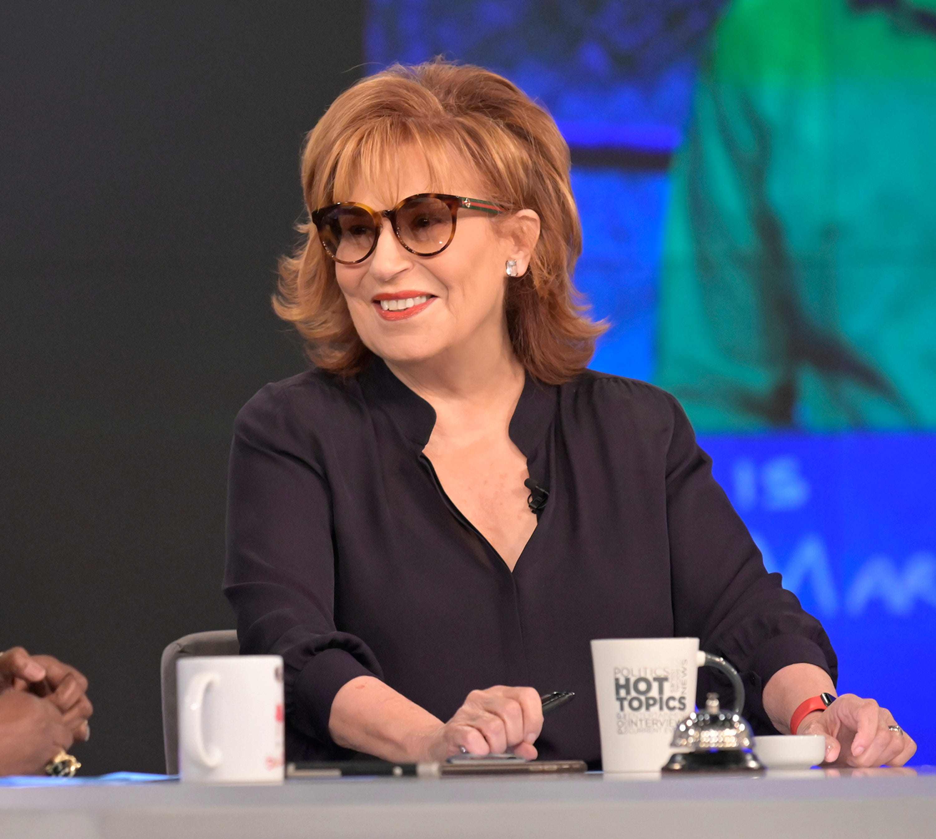 The View': Joy Behar wearing sunglasses after cataract surgery