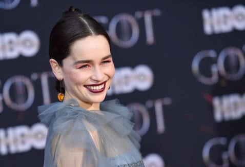 "Emilia Clarke says it's been tough to come to grips with the end of ""Game of Thrones."""