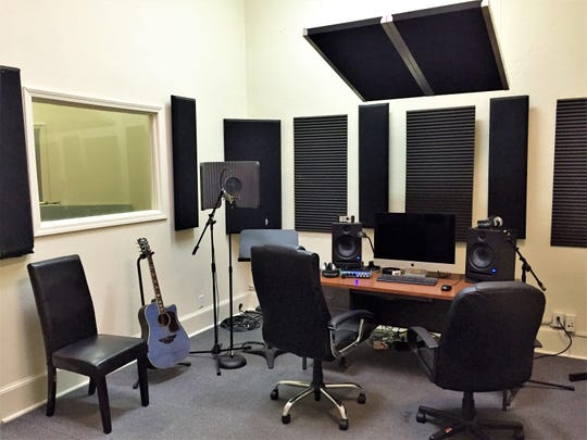 The main recording studio at The River Center.