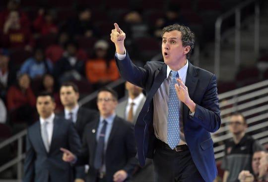 Princeton coach Mitch Henderson