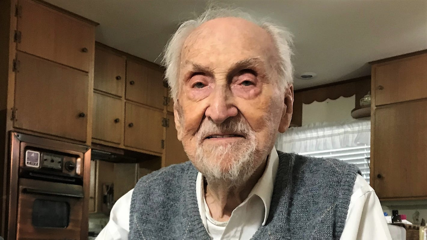 102 years: Lloyd Boyll brightened our days until his last day