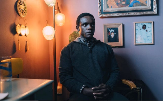 """Chris Chalk, 40, of Asheville as Yusef Salaam in """"When They See Us."""""""