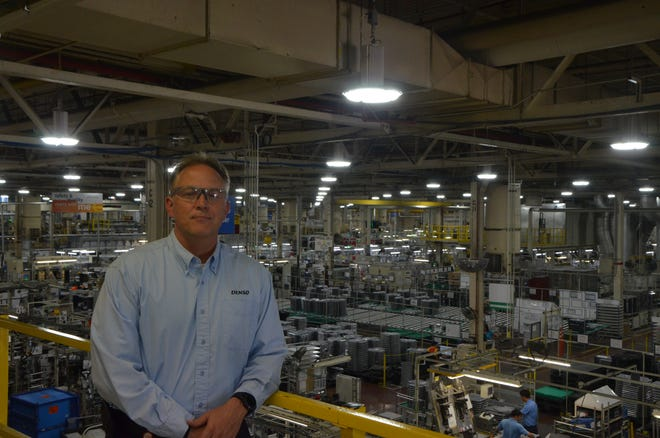 Kevin Carson is the new president of Denso Manufacturing Michigan Inc.  As president, he oversees the manufacturing of the company's thermal systemsin Battle Creek and across North America. The Battle Creek facility is Denso's hub for manufacturingautomotive air conditioning and engine cooling components and systems. The company is Battle Creek's largest employer with nearly 3,000 workers.