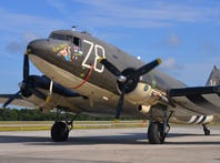 D-Day 75th anniversary memorialized by Tico Belle, a C-47 that flew troops into Normandy