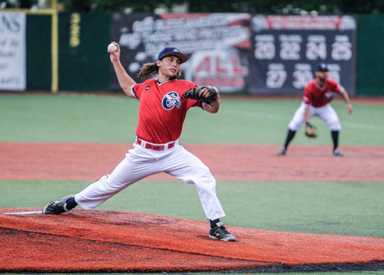 Chillicothe Paints pitcher Nick Smith was the losing pitcher on the night against the Terre Haute Rex, throwing 4.1 innings while allowing eight hits and three earned runs in the Paints 5-3 loss to the Rex at VA Memorial Stadium on Wednesday.