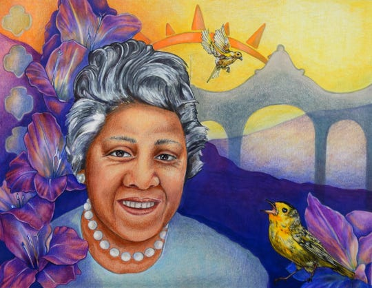 Virginia Coffey, a civil rights advocate who helped desegregate Coney Island Art by Jamie Schorsch Provided The 10 ___ Women project by Kristin Suess and Jeff Suess celebrates women trailblazers in Cincinnati history. 10 Women