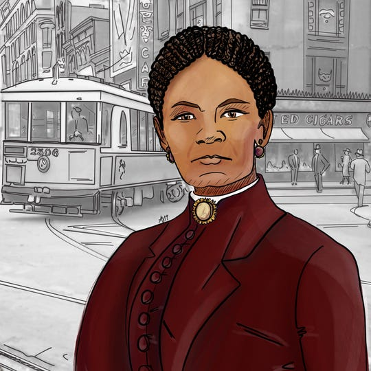 Sarah Fossett, an operative in the Underground Railroad who desegregated Cincinnati streetcars Art by Arielle Goldberg Provided The 10 ___ Women project by Kristin Suess and Jeff Suess celebrates women trailblazers in Cincinnati history. 10 Women