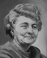 Dorothy Dolbey, the first woman to serve as mayor of Cincinnati Art by Jennifer Baldwin Provided The 10 ___ Women project by Kristin Suess and Jeff Suess celebrates women trailblazers in Cincinnati history. 10 Women