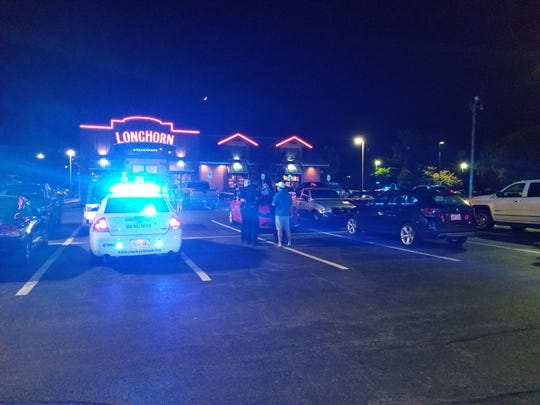 Clarksville Police are investigating a double shooting outside the Longhorn Steakhouse on Wilma Rudolph Boulevard as of 10:30 p.m. on Wednesday, June 5.