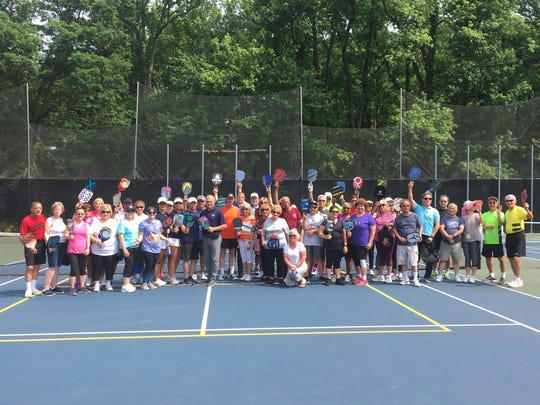 Old Bridge Township's new pickleball courts are now open.