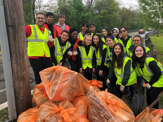 South Plainfield citizens came together during the week of May 4 through May 11 to welcome spring by giving the borough a spring cleaning during the 33rd annual Volunteer Litter Cleanup Week.