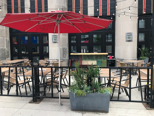 The new micro-bar in the patio space of Malo will add convenience during busy times and events.