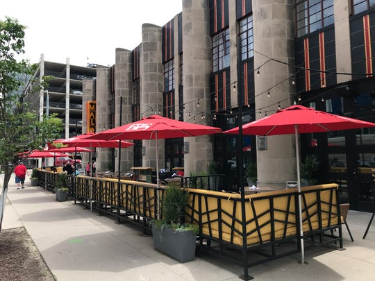 The refreshed patio space at Malo is a great place to catch an al fresco meal or cocktail.