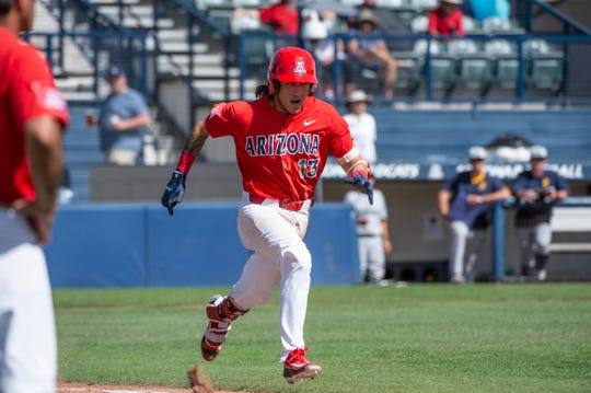 Arizona infielder Nick Quintana.