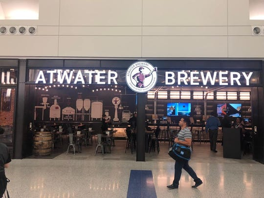 Atwater Brewery is now open at Detroit Metropolitan Airport.