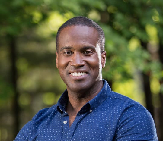 John James, a businessman from Farmington Hills, is running as a Republican for the U.S. Senate in 2018.