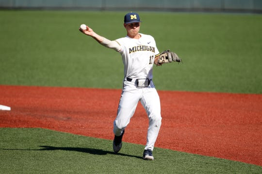 Riley Bertram had seven hits in the NCAA regional.