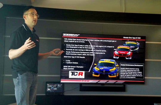 Honda Performance Development engineer Justin Chiodo was attracted to Honda from an early age because of the company's commitment to motorsports.