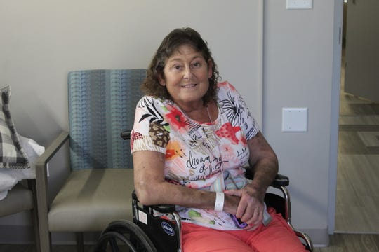 Debbie Thielan, a resident at Countryside Manor, has been adjusting to the renovation going on around her floor.