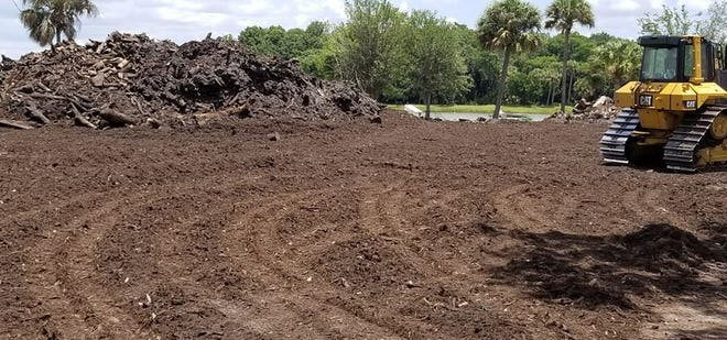 The owners of MW Horticultural, which was hired to accept agricultural waste after Hurricane Irma, say they are making good progress removing the material, but need another two months to finish the work in North Fort Myers.
