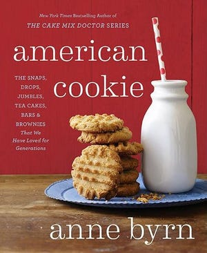 """""""American Cookie: The Snaps, Drops,Jumbles, Tea Cakes, Bars and Brownies that We Have Loved for Generations"""" by Ann Byrn"""