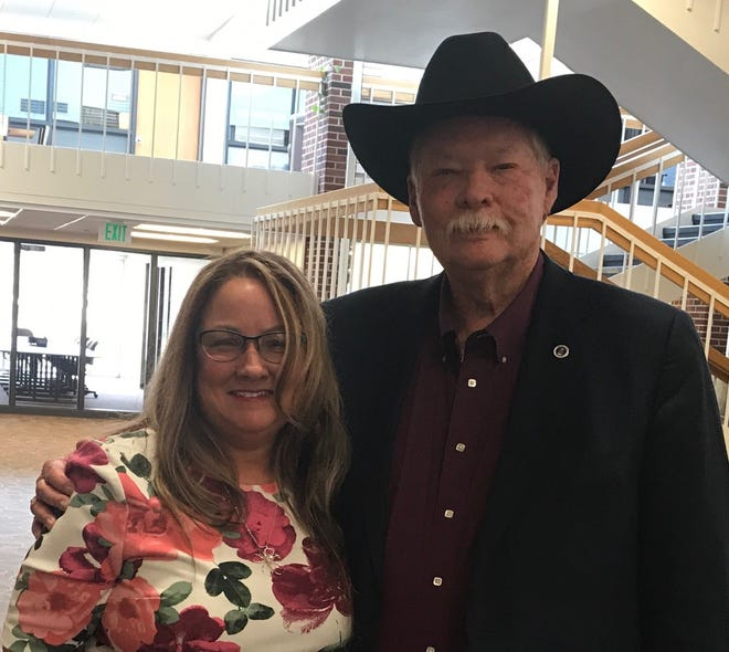 """TitleTown Publishing owner Tracy Ertl spent time with Make-A-Wish Foundation co-founder Frank Shankwitz during his time in Green Bay and De Pere last month. TitleTown is the publisher of his book, """"Wish Man."""" That's also the title of the new movie based on his life."""