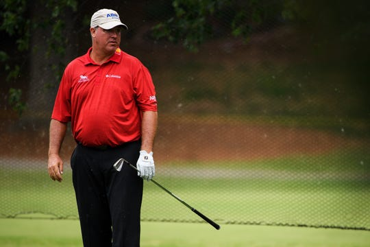 Professional golfer Boo Weekley during the BMW Charity Pro-Am at Thornblade Club Thursday, June 6, 2019.