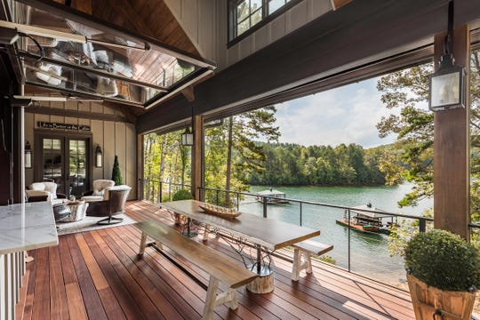 The Pierce home at The Cliffs at Keowee Springs. Home designed by Dillard-Jones Builders