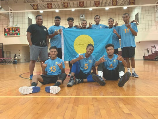 The Palau Junior National Team has a 3-1 record in the the 2019 Guahan Boys Volleyball U19 Invitational Tournament.