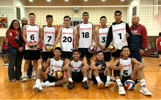 Guahan Boys White is unbeaten in the the 2019 Guahan Boys Volleyball U19 Invitational Tournament.