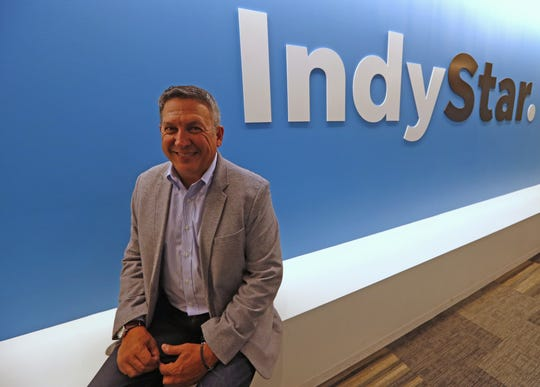 Indianapolis Star and IndyStar Executive Editor Ronnie Ramos poses in the IndyStar offices, Thursday, May 9, 2019.