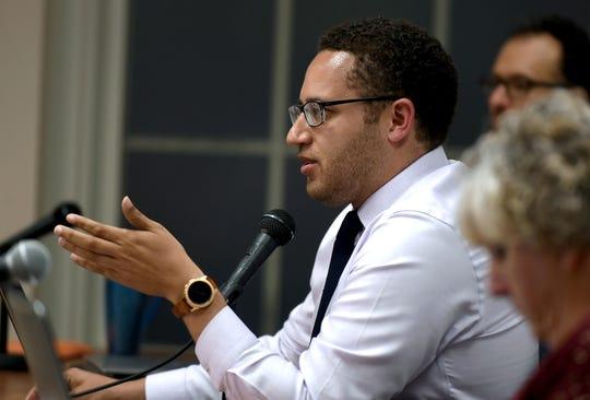 Mayor Svante Myrick, City of Ithaca Common Council meeting, Wednesday, June 5, 2019.