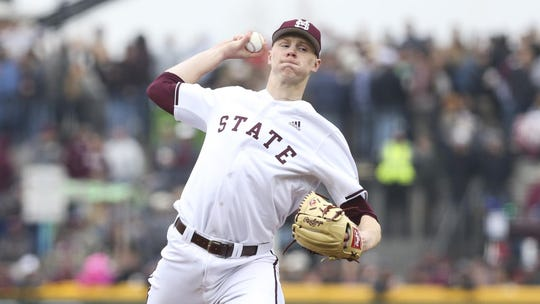Eric Cerantola figures to be a big part of Mississippi State's pitching staff in the years to come. He's a lanky hurler who tops out at 100 MPH with his fastball.