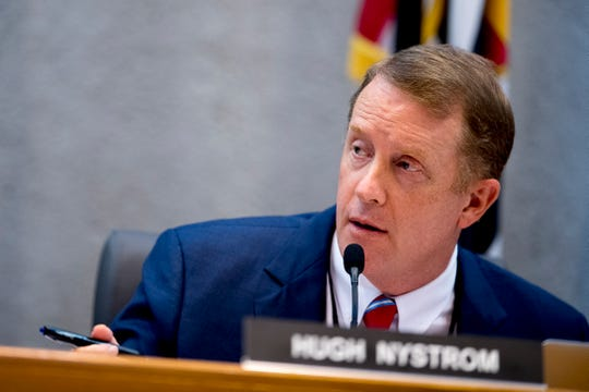 Knox County Commission Chairman Hugh Nystrom,