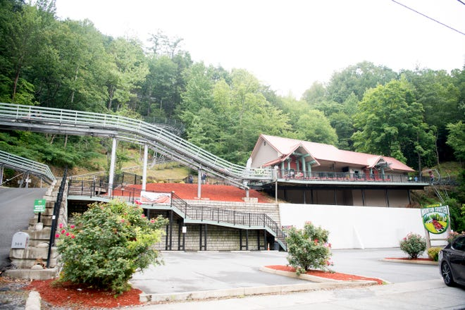 A Gatlinburg Mountain Coaster passenger was injured Monday after they flew out of the cart they were riding on, according to local media reports.