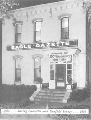 This 1959 photo was taken of the Eagle-Gazette Building at 138 W. Chestnut St. as they were celebrating their 150th anniversary.