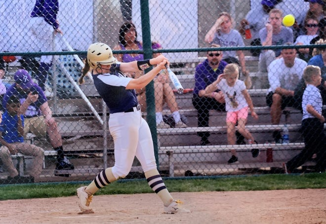 Lancaster sophomore Abbie Wilfing is the Eagle-Gazette Softball Player of the Year