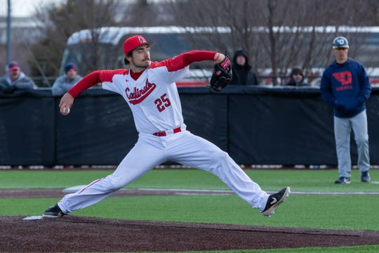 Ball State baseball's John Baker returned to pitch for the Cardinals in 2020 after being drafted in 2019 so he could improve his draft position. His senior season was cut short after coronavirus concerns led to the cancelation of his team's season.