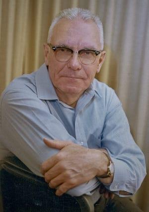 News Journal historian and columnist Virgil Stanfield. January 1969.
