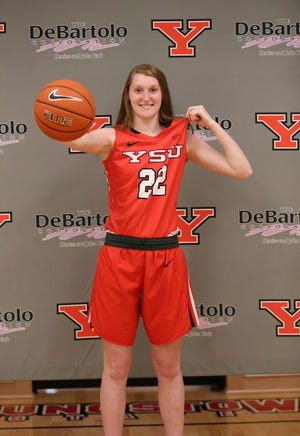 Shelby senior Emma Randall made her verbal commitment to Youngstown State University to play Division I college basketball.