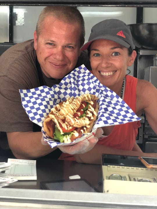 Mike and Rose Stanley are the couple behind Stanley's Sweet Street Treats food truck.