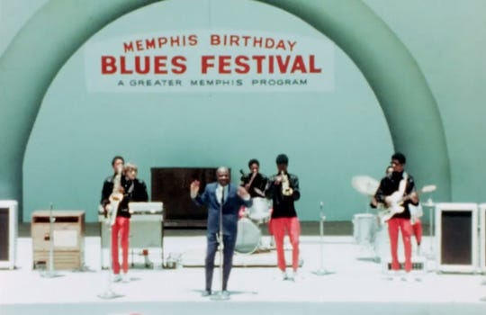 "Rufus Thomas and the Bar-Kays brought the funk to the 1969 Memphis Country Blues Festival at Overton Park, as seen in the new concert documentary ""Memphis '69."""