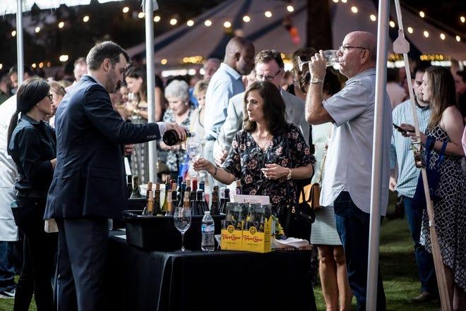 Memphis Food & Wine Festival will be Oct. 12 at Memphis Botanic Garden.