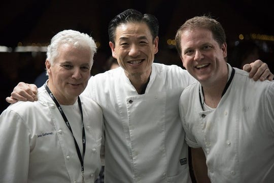 Memphis chefs Jose Gutierrez of River Oaks, Wally Joe of Acre and Andrew Adams of Acre will be returning to Memphis Food & Wine Festival for the third year.