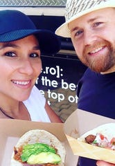 El Mero Taco owners Clarissa and Jacob Dries serve Southern-inspired tacos using fresh ingredients from their food truck.